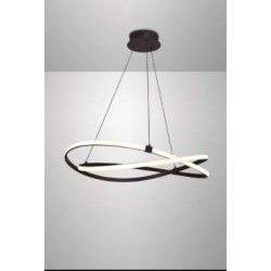 Lampara LED INFINITY marron...